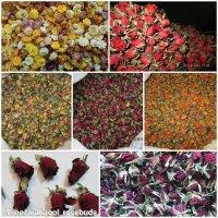 فروش غنچه سرگل خشک گل رز در محلات