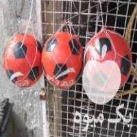 فروش توپ فوتبال در یک نوع و یک اندازه و یک رنگ در تبریز